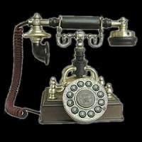 contacter art'sax telephone vintage